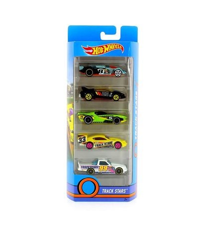 Hot-Wheels-Pack-5-Vehiculos-Track-Stars