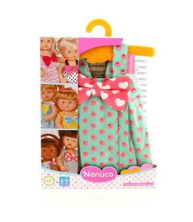 Nenuco-Ropita-Vestido-Percha-com-flores