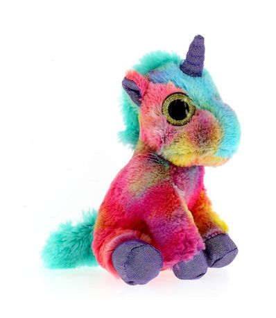Multicolor-verde-Unicorn-Plush-Toy-17-cm