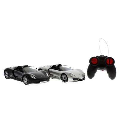 Set-2-coches-Porsche-918-Spyder-a-Escala-1-24