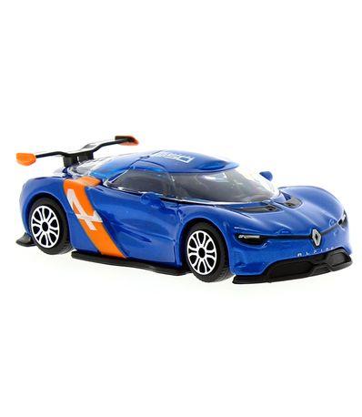 Miniatura-Street-Fire-Renault-Alpine-carros-escala-1-43