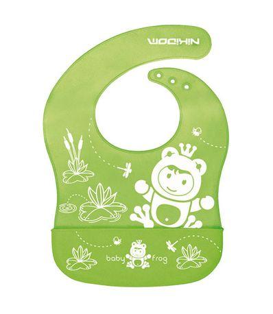 Babero-silicona-Funny-Friends-Frog