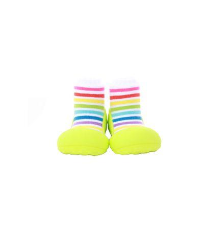 Sapato-Primeiros-Passos-Rainbow-Verde-T225