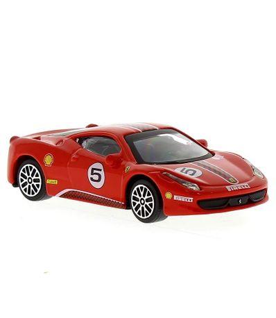 Carro-de-corrida-Ferrari-458-Challange--amp--Play-Escala-1-43
