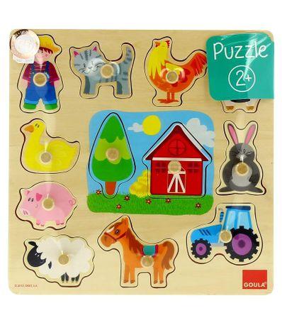 Puzzle-Siluetas-Granja