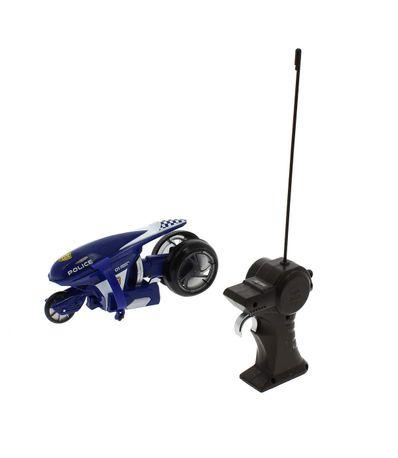 Moto-R---C-diminuto-policia-Acrobatica