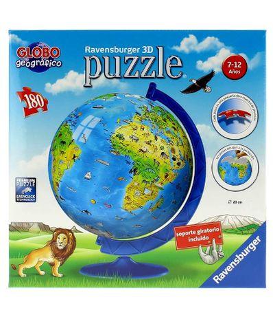 Puzzle-Globo-Geografico-3D