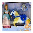 Muñeca-Princesa-Cinderella-con-Caballo