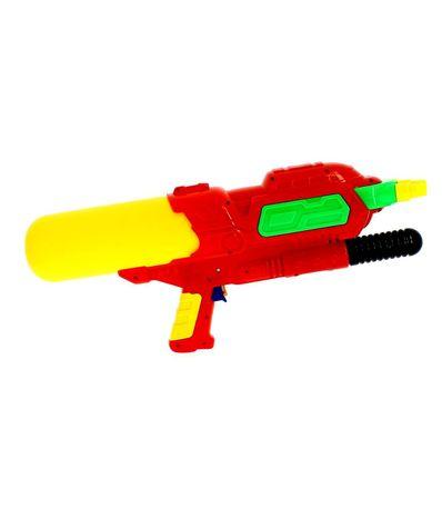Pistola-de-Agua-de-48-cm-con-3-Cañones-Roja