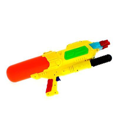 Pistola-de-Agua-de-48-cm-con-3-Cañones-Amarillos