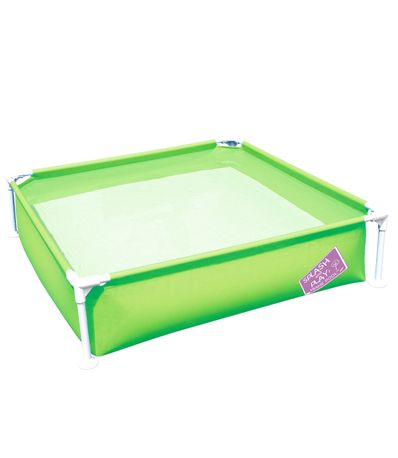Piscina-Infantil-Tubular-Verde
