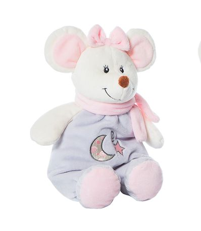 Peluche-Ratita-28-Cm-Rosa