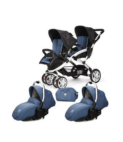 Coche-de-bebe-gemelar-Stwinner-Sono-2-piezas-Lapis-Lazuli