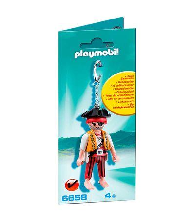 Playmobil-Llavero-Pirata