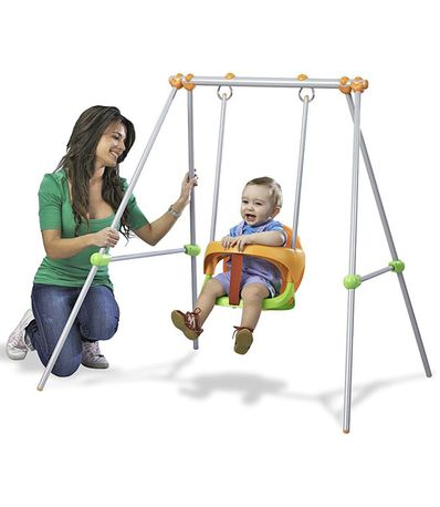 Columpio-metal-Baby-Swing