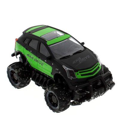 Escala-1-18-verde-da-lama-4x4-Car-R---C