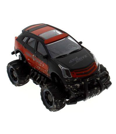 Escala-1-18-lama-vermelha-carro-4x4-R---C