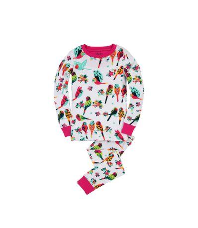 Bebe-pijamas-de-manga-comprida-de-2-pecas-Tamanho-2