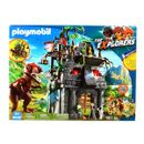 Playmobil-the-Explorers-Campamento-Base-con-T-Rex