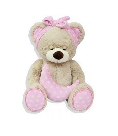 Urso-de-Peluche-Rosa-23-cm