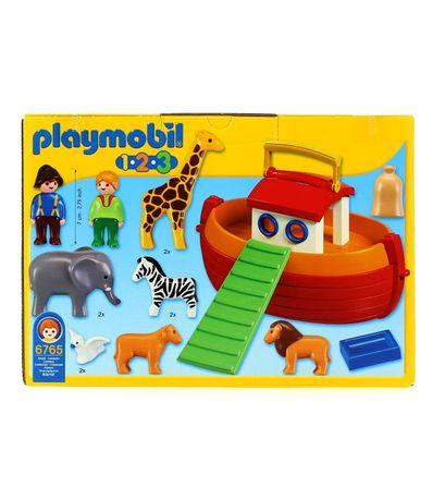 Noe 1 2 3 Playmobil Arca Maletín De hQdsrCt