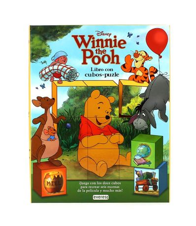 Winnie-the-Pooh-Libro--Conte-amb-Puzles-de-Cubs-