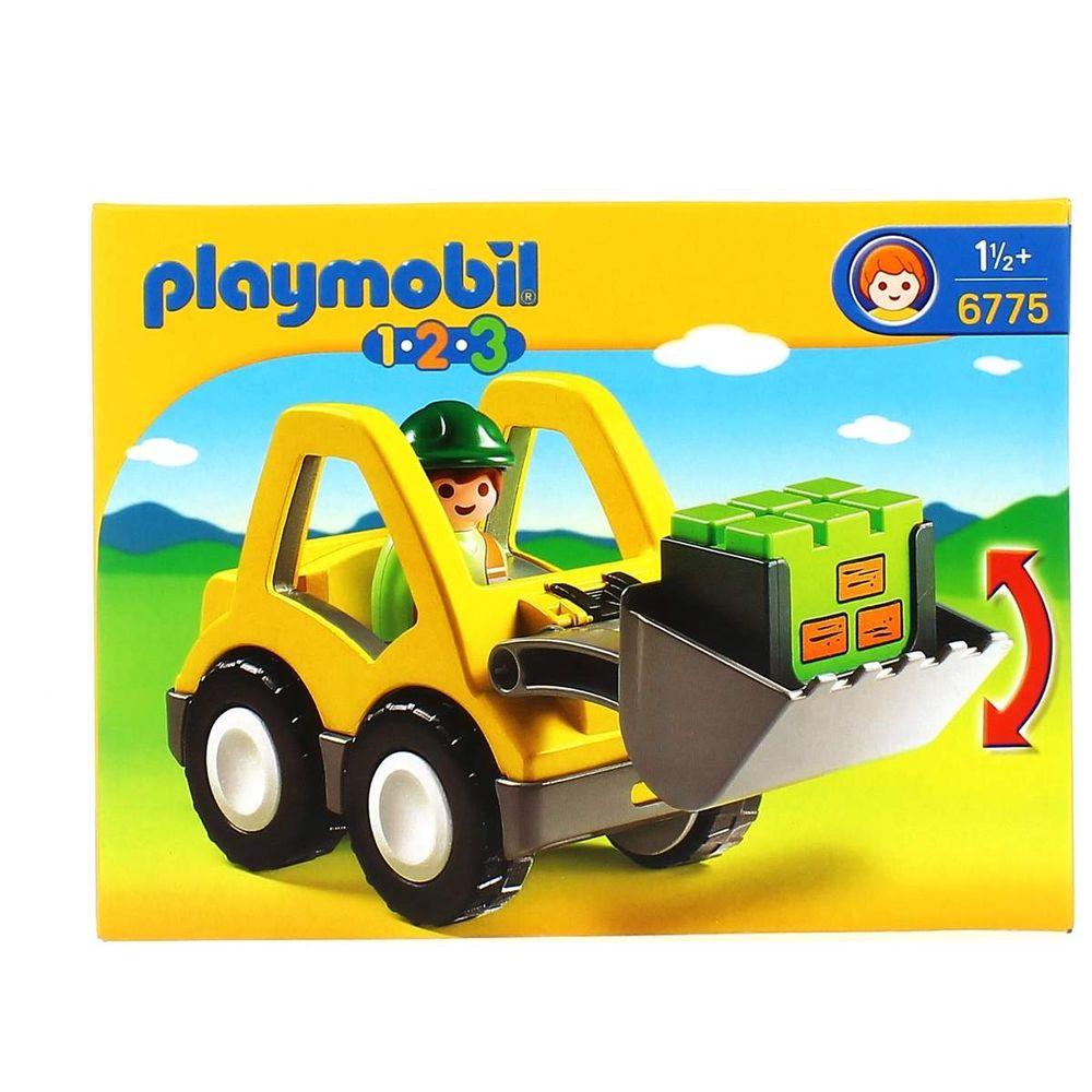 Con 2 Excavadora Playmobil 3 Pala 1 K1uc3lTJF