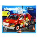 Playmobil-City-Action-Coche-de-Bomberos-con-Luz-y-Sonido