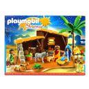Playmobil-Christmas-Belen-con-Establo