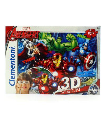 Os-Vingadores-Puzzle-3D-de-104-Pecas