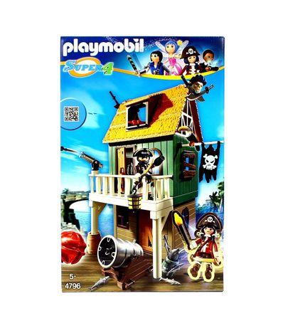 Playmobil-Super4-Fuerte-de-Pirata-con-Ruby
