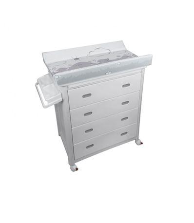 Mueble-bañera-PVC-con-cambiador-Azul-Vichy