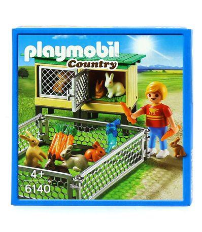 Playmobil-Country-Conejeras