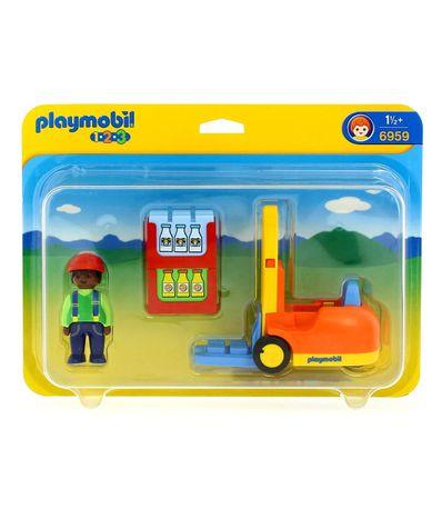 Playmobil-123-Carro-de-Transporte-Elevador