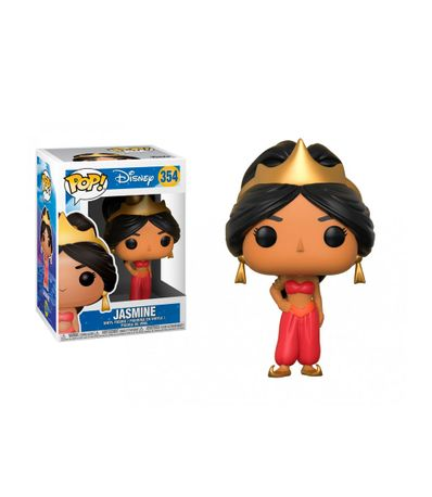 Figura-Funko-POP-Jasmine-Vestido-Rojo