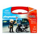 Playmobil-City-Action-Maletin-con-Moto-de-Policia