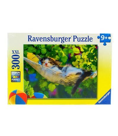 Puzzle-Siesta-Gatuna-de-300-Piezas-XXL