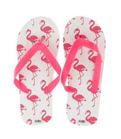 Flamingos-Verao-Flip-Flops-Rosas-Tamanho-34