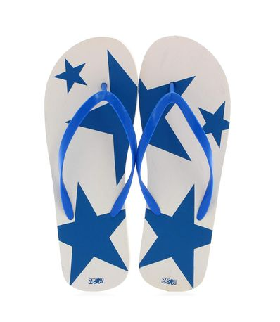 Verao-azul-Flip-Flops-tamanho-40