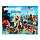 Playmobil-Caballeros-Halcon-con-Cañon