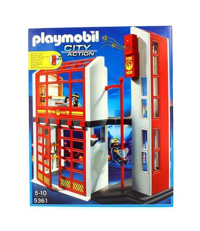 Playmobil-Quartel-de-Bombeiros-com-Alarme