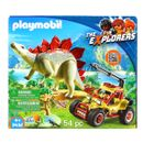 Playmobil-the-Explorers-Vehiculo-Explorador-con-Estegosaurio