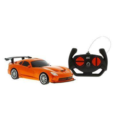 Coche-Super-Sport-Naranja-R-C