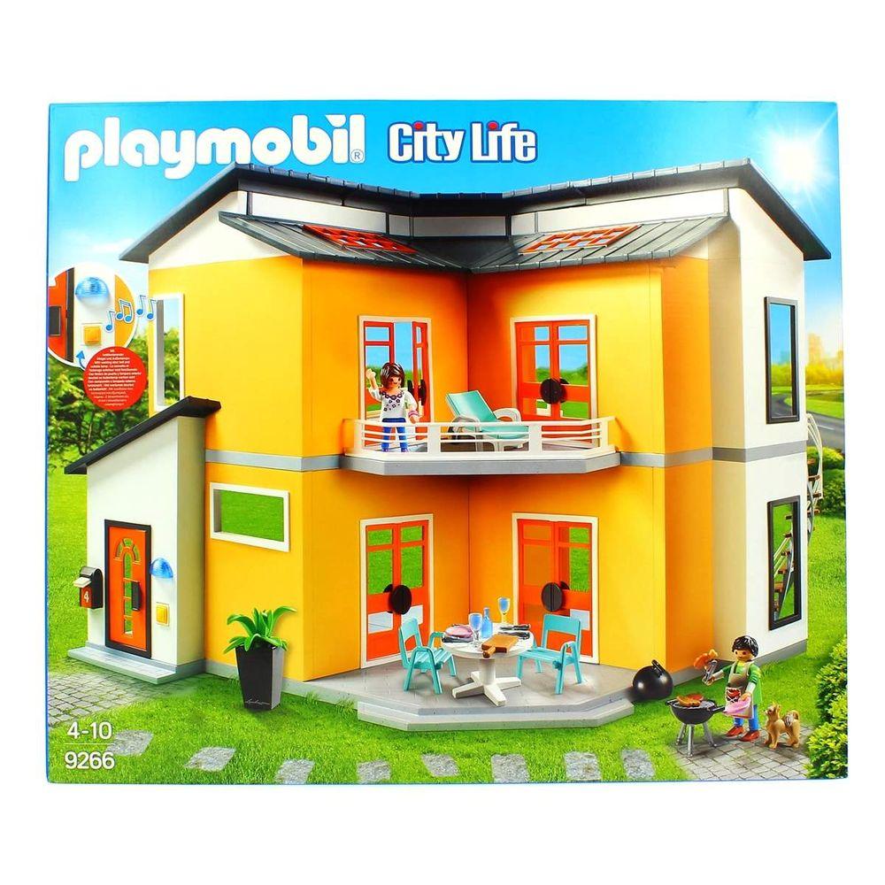 Playmobil City Life Casa Moderna - drimjuguetespt