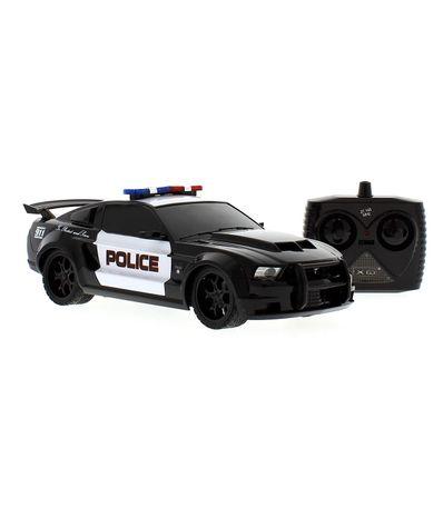 Carro-R-C-Mustang-Boss-Police-Escala-1-18