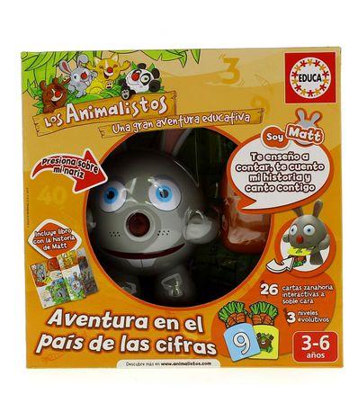 Juego-Los-Animalistos-Matt-El-Conejito