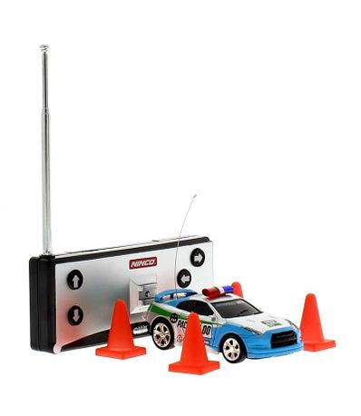 Mini-Coche-RC-Azul-Flash-Light