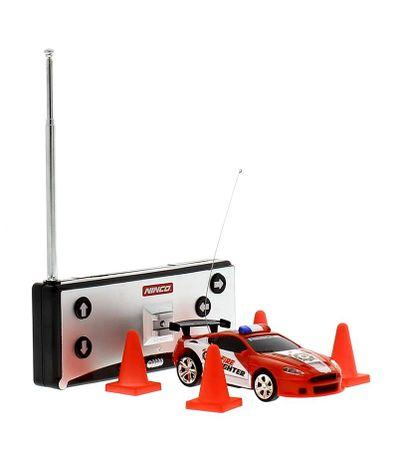Mini-coche-RC-Rojo-Flash-Light