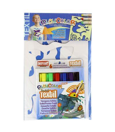 Playcolor-Textil-6-Colores-con-Plantillas-Niño