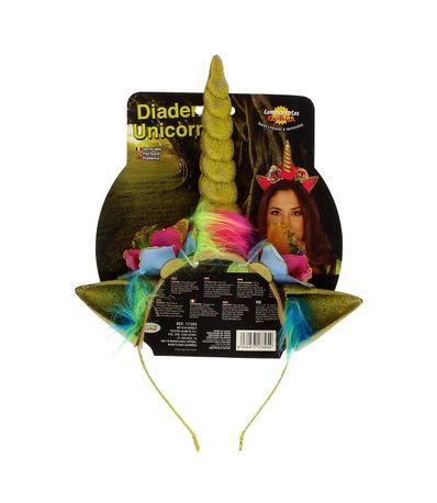 Diadema-para-Carnaval-Dorada-Unicornio